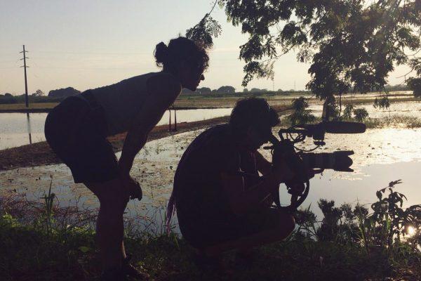 Grabación del documental Órdago a la pequeña
