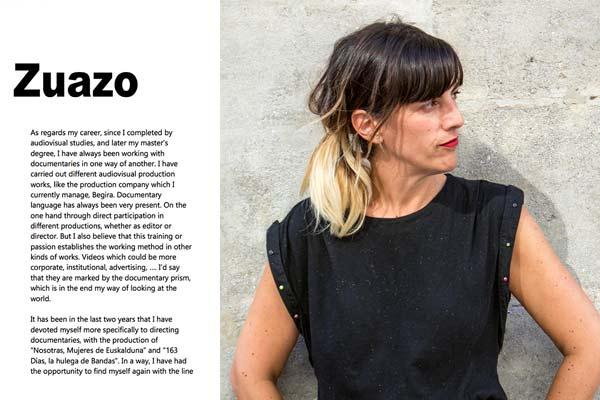 Larraitz Zuazo en WomenCinemakers